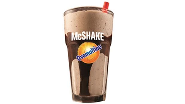 Milk shake de Ovomaltine começa a ser vendido no McDonald's (Foto: Divulgação)