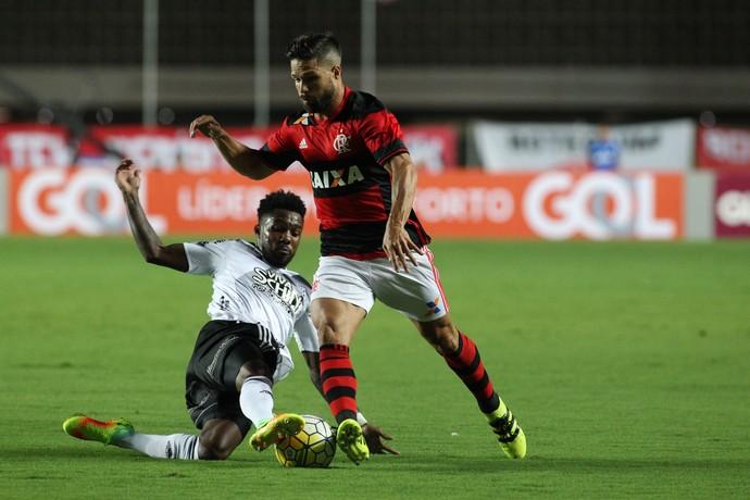 Diego Flamengo x Ponte Preta (Foto: Gilvan de Souza / Flamengo)