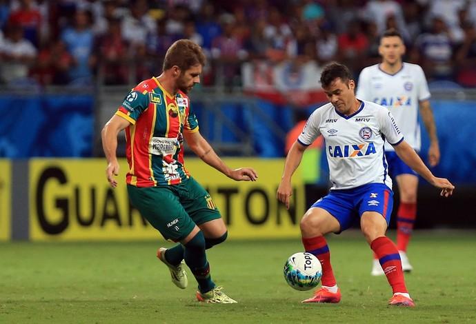Bahia x Sampaio Corrêa na Arena Fonte Nova (Foto: Felipe Oliveira / Divulgação / E.C. Bahia)