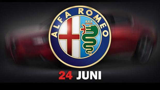 Alfa Romeo divulga primeira teaser do novo sedã Giulia (Foto: Divulgação)