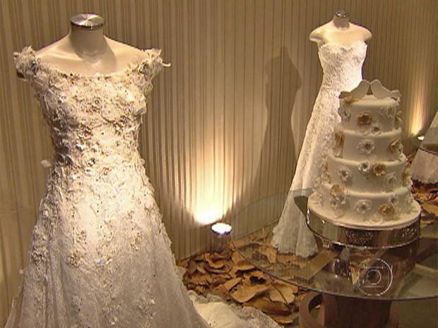 Feira de noivas (Foto: Mais Você / TV Globo)