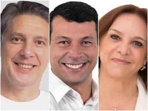 Candidatos à Prefeitura de Tatuí (Foto: Divulgação)