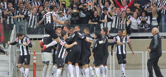Pratto gol Atlético-MG Sport (Foto: Doug Patrício / Agência Estado)