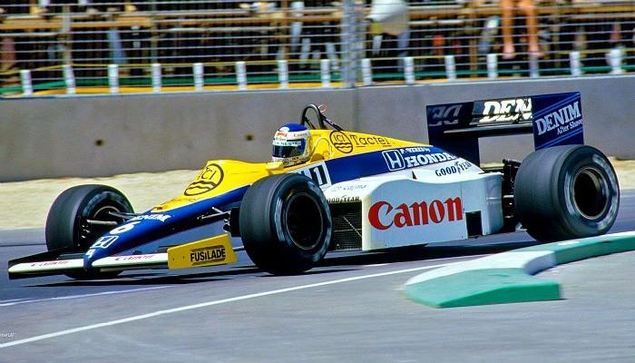 Keke Rosberg Williams GP da Austrália 1985