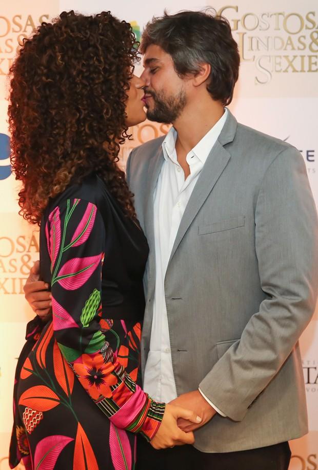 Juliana Alves e Ernani Nunes (Foto: Manuela Scarpa/Brazil News)