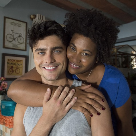 Guilherme Leicam e Lilian Valeska  (Foto: Estevam Avellar/ TV Globo)