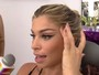 Grazi Massafera fala sobre maquiagem para gravar: 'Chego detonada e consertam tudo'