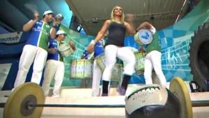 Crossfit com samba euatleta (Foto: Reprodução SporTV)