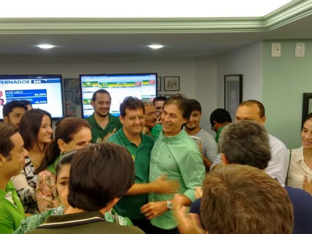 Eunício recebeu mais de dois milhões de votos (Foto: Gabriela Alves/G1)