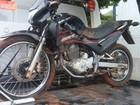Dupla é detida após roubo de moto no distrito Cava Grande, em Marliéria