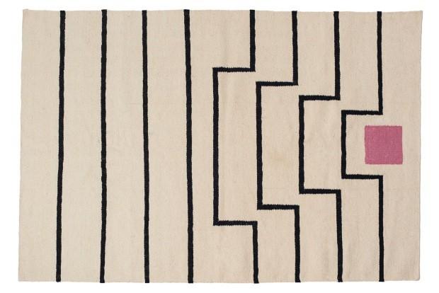Tapete Tabitha, de lã e algodão (Foto: Divulgação)