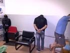 Homens são presos suspeitos de fazer gerente e família reféns