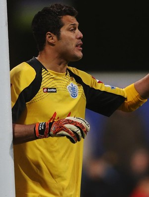 Julio cesar queens park rangers (Foto: Agência Getty Images)