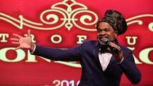 Carlinhos Brown recebe Troféu Gonzagão, o Oscar do Nordeste (Xico Morais)