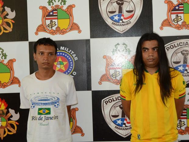 Estudante de psicologia e irmão são presos por extorsão e pedofilia no MA (Foto: Divulgação/SSP-MA)