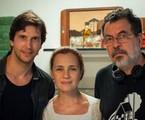 Vladimir Brictha, Adriana Esteves e Jorge Furtado | Divulgação
