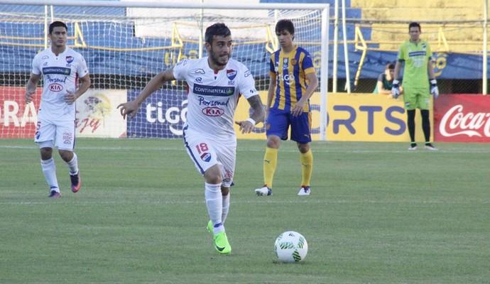 Nacional do Paraguai venceu o Sportivo Luqueño, única vitória no ano (Foto: Divulgação/Nacional-PAR)