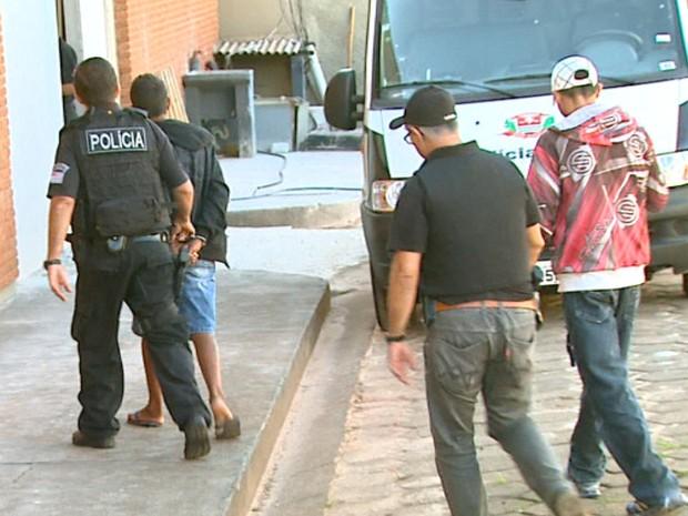 Ao todo, 10 pessoas foram presas na operação (Foto: Reprodução/EPTV)