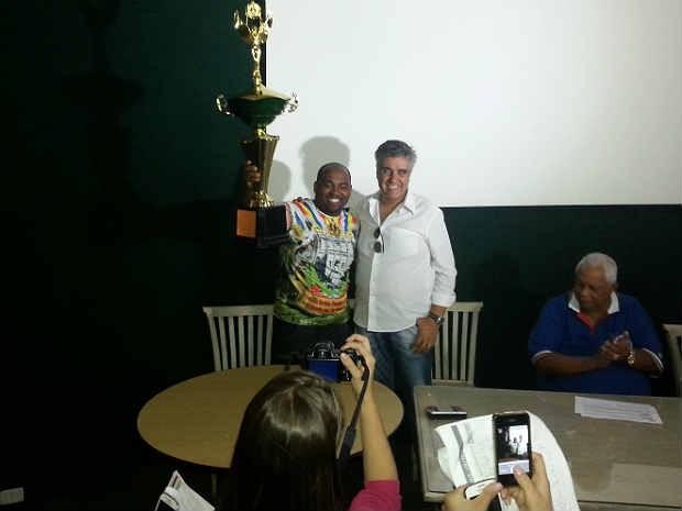 Mocidade Alegre campeã Grupo B de Juiz de Fora (Foto: Rafael Antunes/ G1)