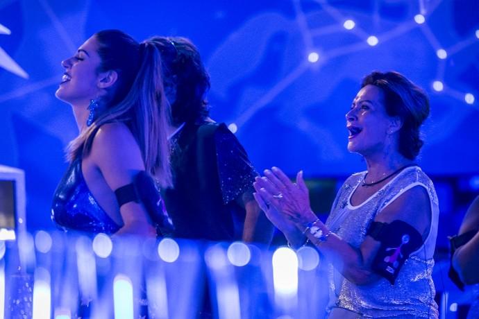 Ieda aproveita show de Paulo Ricardo (Foto: Foto: Artur Meninea/Gshow)