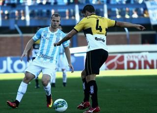 Lucas Coelho Avaí x Criciúma (Foto: Jamira Furlani/Avaí FC)