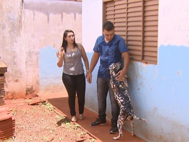 Cadela de casal foi morta no dia 22 de janeiro em Aguaí (Foto: Eder Ribeiro/ EPTV)