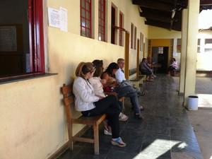 Atendimento nos postos de saúde não teve grande reflexos (Foto: Michelly Oda / G1)