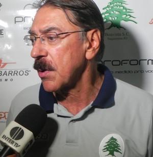 Américo Faria, treinador do Boavista (Foto: Chandy Teixeira)