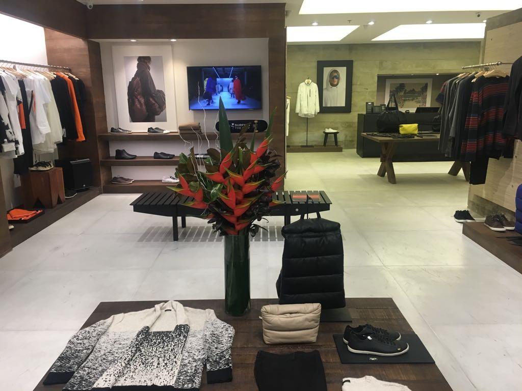 A nova loja da Osklen no Iguatemi SP (Foto: Divulgação)