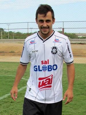 Bruno Paiva, meia do Rio Branco-ES (Foto: Deysiane Gagno/Rio Branco AC)