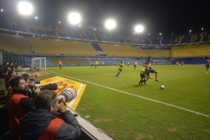 Fotógrafo Boca Juniors x Aldovisi Bombonera vazia (Foto: EFE/Juan Ignacio Roncoroni)