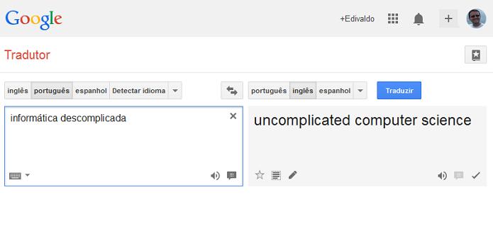 Resultado de imagem para google tradutor