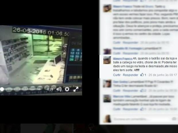 Bruno divulgou o vídeo nas redes sociais e logo teve comentários e compartilhamentos (Foto: Reprodução/Facebook/ Bruno Fernando)
