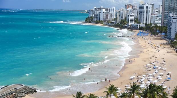 Terra de praias lindas, Porto Rico está em crise financeira (Foto: Reprodução)