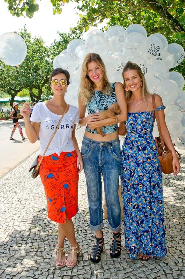 Camila Rodrigues, Ellen Jabour e Yasmin Brunet (Foto: Divulgação/Mariana Vianna)