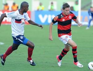 Adryan, Bahia x Flamengo (Foto: Alexandre Vidal / Fla Imagem)