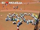 Militantes fazem ato em homenagem a Eduardo Campos em Brasília