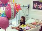 Luiza Valdetaro faz festa para a filha: 'Nunca foi tão bom comemorar!'