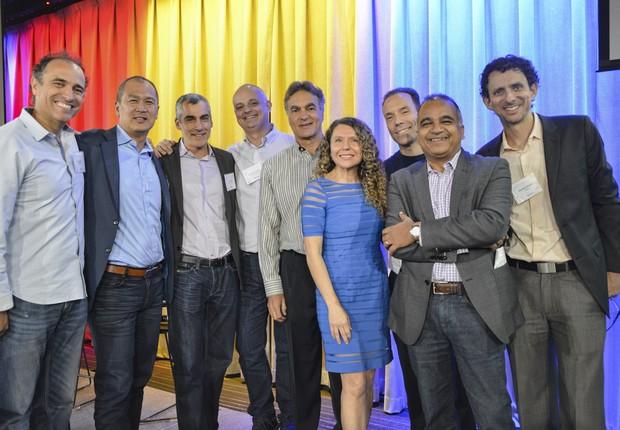 Time da BayBrazil, que promove eventos para aproximar empresas americanas do Brasil (Foto: Divulgação)