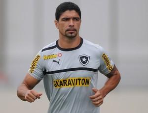 Renato treino Botafogo (Foto: Bruno Turano/Agência Estado)
