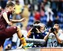Totti entra após temporal, decide, e Roma derrota Sampdoria de virada