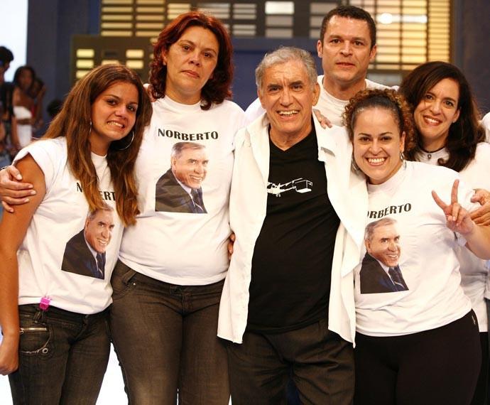 Norberto saiu do BBB9 com 55% dos votos (Foto: Globo)