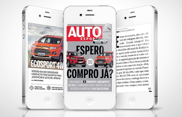 App da revista Autoesporte para celular (Foto: Autoesporte)