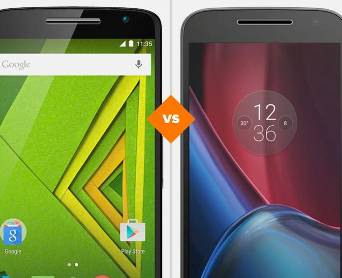 Moto X Play ou Moto G 4 Plus: compare preço e ficha técnica (Foto: Arte/TechTudo)