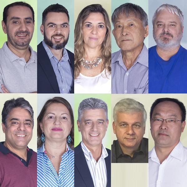 Secretários anunciados por Felício Ramuth (Foto: Arte G1)