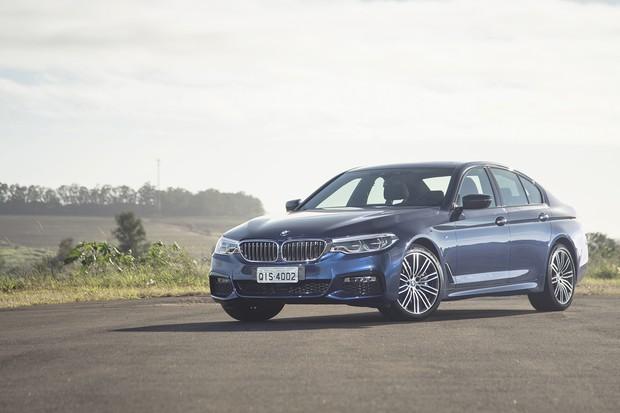 BMW Série 5 (Foto: Autoesporte)