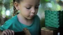 Projeto estimula a parceria entre as crianças em MG                      (Reprodução TV)