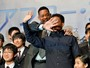 Will Smith e o filho divulgam filme em clima de descontrao no Japo