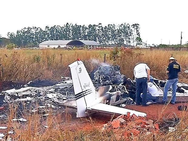 Acidente matou empresário e deixou duas pessoas feridas em Tangará da Serra (MT). (Foto: Reprodução/ TVCA)