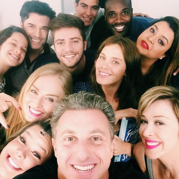 Famosos na peça 'Meu passado não me condena' no Rio (Foto: Instagram/ Reprodução)